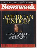 NEWSWEEK magazine-nov 10,1997-AMERICAN JUSTICE?
