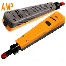 AMP Network Wire Cable Terminations Fix Insert Cut Off Impact Punch Down Tool