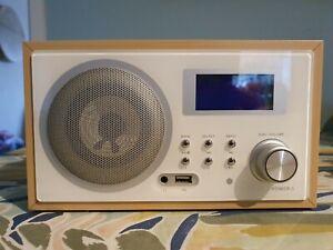Intempo GX-01 Internet Radio - 8000 Radio Station - USB - WiFi & LAN Network