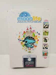 Moonlite Storytime Smartphone Wall Projector Gift Pack w/ 5 Little Golden Reels