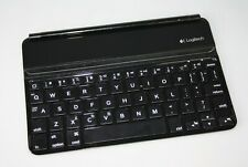 Logitech Y-R0038 Black iPad mini Tablet Bluetooth Wireless Ultra Thin Keyboard
