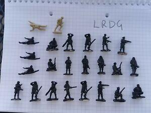 20mm 1/72(76) WW2  British Desert LRDG 24 Figures
