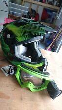 Moto Cross Racing Helmet Xtreme Sports Off Road for ATV Typhoon Goggles Adult