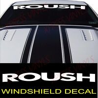 Ford Mustang ROUSH GT SHELBY Vinyl Decal Sticker Windshield Window