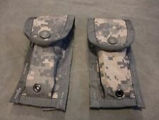 Lot of two (2) NEW Military Surplus US Army ACU MOLLE II 9MM Mag Pouch Free ship