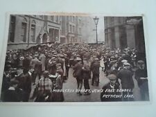LONDON Middlesex Street, Jew's Free School, Petticoat Lane Franked 1916 §A2276
