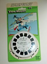* SEALED / NEW * SPORT GOOFY 1984 VIEWMASTER REELS SET 3047 RARE   D877