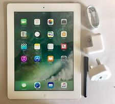 Apple iPad 4th Generation 16GB, Wi-Fi, (EE) network 9.7in - White + EXTRAS