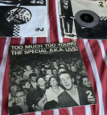The Specials 7 In Vinyl Too Much To Young/ Gangsters/ Ghost Town