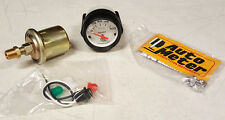SALE Auto Meter Phantom Electric Oil Pressure Gauge 2-1/16 in. 0-100 psi 52mm