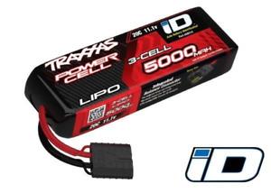 Traxxas 2832X 5000Mah 3S 11.1V 25C Lipo Short Id Plug