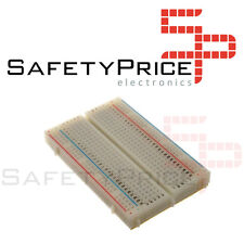 Protoboard 400 puntos blanca para prototipado Arduino Electronica PIC