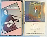 Neil Diamond The Best Years of Our Lives I'm Glad Your Here Cassette Tape Albums