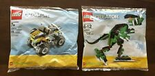 LEGO BrickMaster Creator 20003 and 20014 sealed in polybags