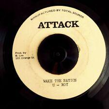 U Roy - Wake The Nation  /  Tommy McCook & Bobby Ellis - Canon