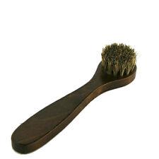 Poignée en bois chaussure de nettoyage brosse nettoyant cire applicateur lustreI