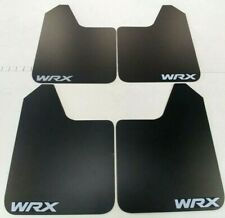 SALE [SR] Mud Flaps Set BLACK with Custom Vinyl Logo B