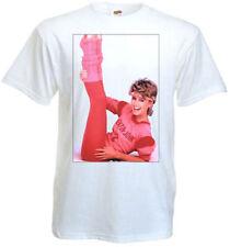 Olivia Newton-John v3 T-shirt white poster all sizes S...5XL