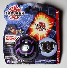 Bakugan Battle Brawlers Series 1 Deka Saurus Darkus Black 2008 Nos Sealed
