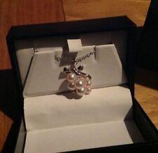 Mikimoto Multi Pearl Wine Grapes Pendant Necklace