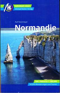 Reiseführer Normandie Ausgabe 2019/20, Michael Müller Verlag, ungelesen, wie neu