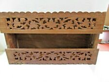 India #211 Vintage Accessory Vanity Table Top Hanging Tissue Box Cover Holder
