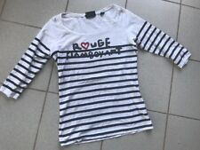 Original Maison Scotch Soda Longsleeve Shirt Gr 2 M Longshirt Maritim Top!