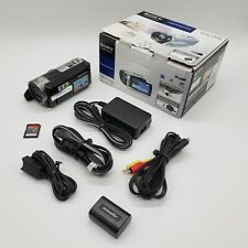 Sony DCR-SX85 Handycam In Original Box with Charger, Cables, and Manuals + More