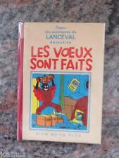 Tintin - Lanceval Exem - Les voeux sont faits - 2003 -   492/530 signé - Neuf