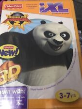 Fisher Price IXL Kung Fu Panda 2 Cd Rom Video Game BRand New