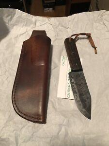 Matt Lesniewski (ML)Knives Traditional Style Rugged Clip Point/Vintage Chestnut