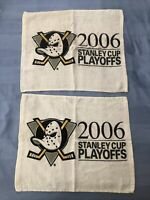 Anaheim Ducks - Rally Towels - 2006 Stanley Cup Playoffs - Mighty Ducks - 2!!