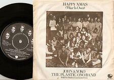 JOHN LENNON & YOKO ONO HAPPY XMAS (WAR IS OVER) DANISH 45+PS 1971 THE BEATLES
