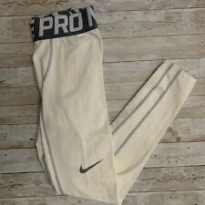 Nike Pro Combat Hyperwarm Compression Lite Men's Tights Style 596297-100 Size M