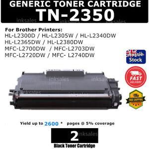 2 Toner TN2350 TN 2350 HY for Brother HL L2300D L2340DW L2365DW MFC L2700 TN2330