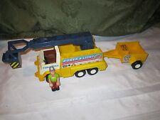 Fisher Price Husky Helpers 339 Power and Light Rig Helper Truck Trailer Figure