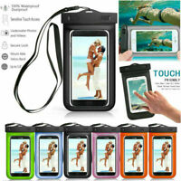 Swimming Waterproof Underwater Pouch Bag Pack Dry Case Cover For iPhone Samsung