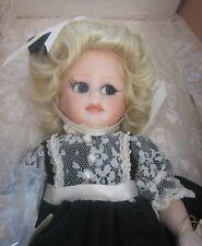 "1991 Maryse Nicole Doll ""Holly"" With Box 12"" Tall Blonde Hair"