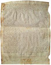 1512 Calella - Barcelona - MANUSCRIPT WILL on VELLUM - 500 YR Old Latin Document