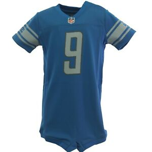 Detroit Lions Matthew Stafford NFL Nike Baby Infant Toddler Jersey Style Creeper