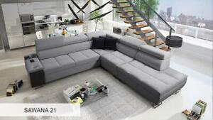 Brand New Corner Sofa Bed With Storage  Morena IX