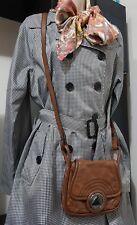 💕💕💕 MIMCO Brown LEATHER Satchel Hand BAG + MIMCO dust bag 💟💟💟