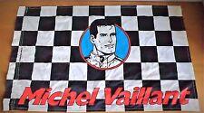 Drapeau de Michel Vaillant année 90' offert avec intégrale