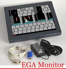 "38cm 15"" LCD EGA FLACHBILDSCHIRM MONITOR DISPLAY MIT 4 LAMPEN INKL. POWER SUPPLY"