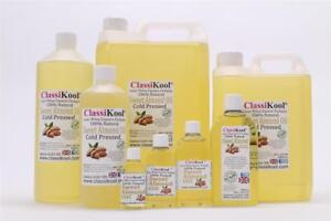 Classikool Sweet Almond Oil, Natural Cold Pressed Carrier for Massage