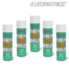 Silicon Spray 5x Pack For Treadmill Lubrication Multi-Purpose Oil