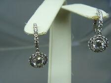 1.65 G/SI1 CARAT DIAMOND  EARRING  14KT WHITE GOLD
