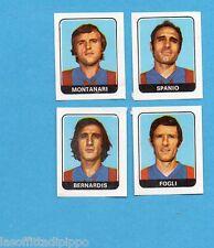 FIGURINA PANINI 1972/73-n.426- CATANIA-MONTANARI+SPANIO+BERNARDIS+FOGLI -Rec