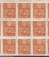 SPM large block of 100x 10c MNH postage due/taxe. Excellent for study @JJ168