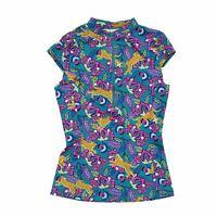 Boden Women's Short Sleeve Top 10 Multi, Blend - other